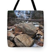 Arethusa Falls Tote Bag by Catherine Reusch  Daley