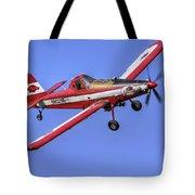 Arkansas Razorbacks Air Tractor Tote Bag by Jason Politte