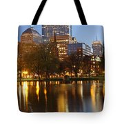 Arlington Street Church Tote Bag by Juergen Roth