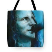 'arms Raised In A V' Tote Bag by Christian Chapman Art