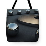 Around Circles Tote Bag by Richard Rizzo