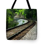 Around The Bend Tote Bag by Parker Cunningham