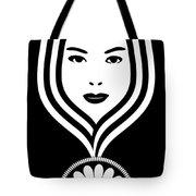 Art Nouveau Woman Tote Bag by Frank Tschakert