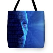 Artificial Intelligence Tote Bag by Johan Swanepoel