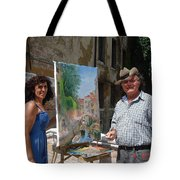 Artist At Work Venice Tote Bag by Ylli Haruni