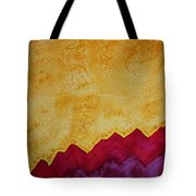 Ascension Original Painting Tote Bag by Sol Luckman