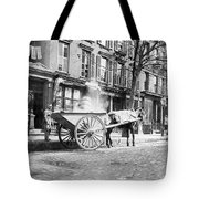 Ash Cart New York City 1896 Tote Bag by Unknown