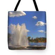 Aspetuck Reservoir Tote Bag by Joann Vitali