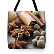 Assorted Spices Tote Bag by Elena Elisseeva