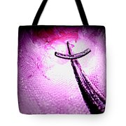 At The Foot Of The Cross Tote Bag by Annie Zeno