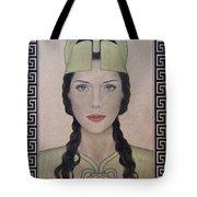 Athena Tote Bag by Lynet McDonald