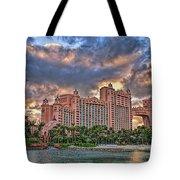 Atlantis Tote Bag by Olga Hamilton