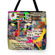 Atomic Bomb Of Purity 2b Tote Bag by David Baruch Wolk