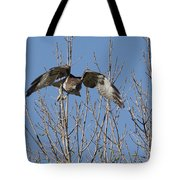 Attack Tote Bag by Ernie Echols