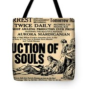 Auction Of Souls Tote Bag by Digital Reproductions