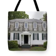 Augustine Moore House Yorktown Virginia Tote Bag by Teresa Mucha