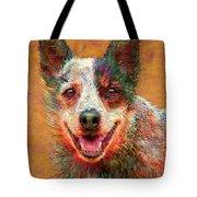 Australian Cattle Dog Tote Bag by Jane Schnetlage
