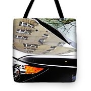 Auto Headlight 98 Tote Bag by Sarah Loft