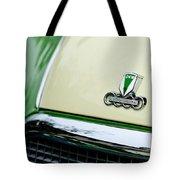 Auto Union Dkw Hood Emblem Tote Bag by Jill Reger