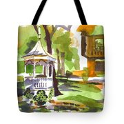 Autumn At The Rectory Tote Bag by Kip DeVore