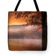 Autumn Atmosphere Tote Bag by Lori Deiter