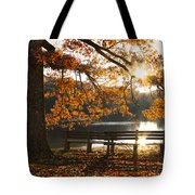 Autumn Beauty Tote Bag by Debra and Dave Vanderlaan