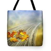 Autumn Bridge Tote Bag by Veikko Suikkanen