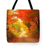 Autumn Cameo 2 Tote Bag by Terri Gostola