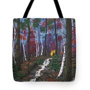 Autumn Colours Tote Bag by Sharon Duguay