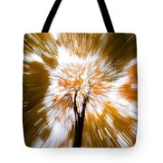 Autumn Explosion Tote Bag by Dave Bowman