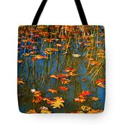 Autumn  Floating Tote Bag by Peggy  Franz