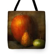 Autumn - Gourd - Melon Family  Tote Bag by Mike Savad
