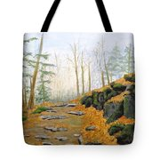 Autumn Hike Tote Bag by Peggy King