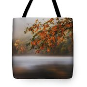 Autumn Lake Tote Bag by Bill  Wakeley