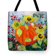Autumn Tote Bag by Laura Nance