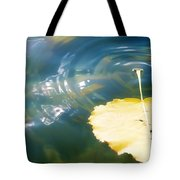 Autumn Ripples Tote Bag by Lisa Knechtel