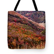 Autumn Tote Bag by Rona Black