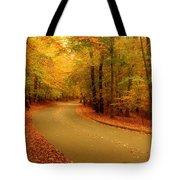 Autumn Serenity - Holmdel Park  Tote Bag by Angie Tirado