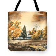 Autumn Sky No W103 Tote Bag by Kip DeVore