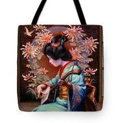 Autumn Song Tote Bag by Jane Bucci