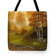Autumn Splendor Tote Bag by C Steele