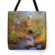 Autumn Woods Tote Bag by Joann Vitali