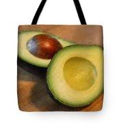 Avocado Tote Bag by Michelle Calkins