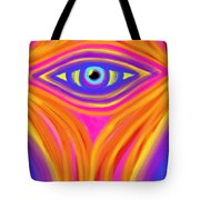 Awakening the Desert Eye Tote Bag by Daina White