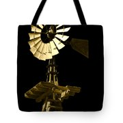 Awesome Aermotor Tote Bag by Anne Mott