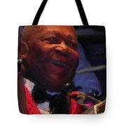 B. B. King Tote Bag by Michael Pickett