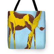 Baby Giraffe Nursery Art Tote Bag by Christy Beckwith
