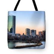 Back Bay Sunrise Tote Bag by JC Findley