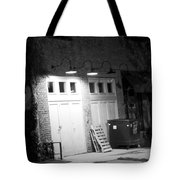 Back Entrance Tote Bag by Jim Finch