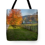 Back Roads Tote Bag by Bill  Wakeley